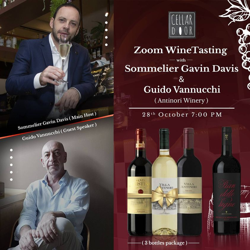 Zoom Wine Tasting with Antinori
